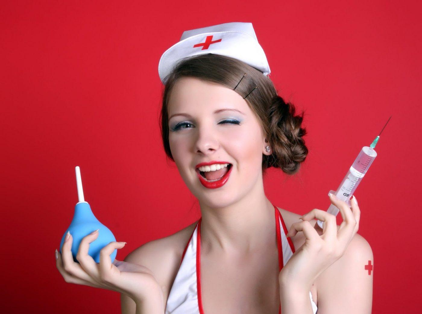 Прикольные картинки женщин врачей